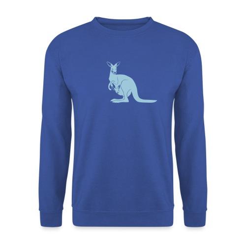 tier t-shirt känguru kangaroo roo australien aussie australia beuteltier - Männer Pullover