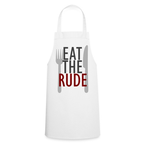 Eat the Rude Apron - Cooking Apron