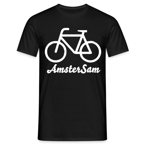 AmsterSam Classic Bike shirt - Men's T-Shirt
