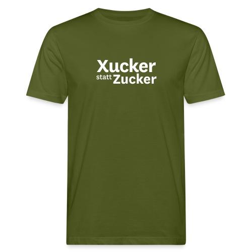 Xucker statt Zucker-T-Shirt Männer - Männer Bio-T-Shirt
