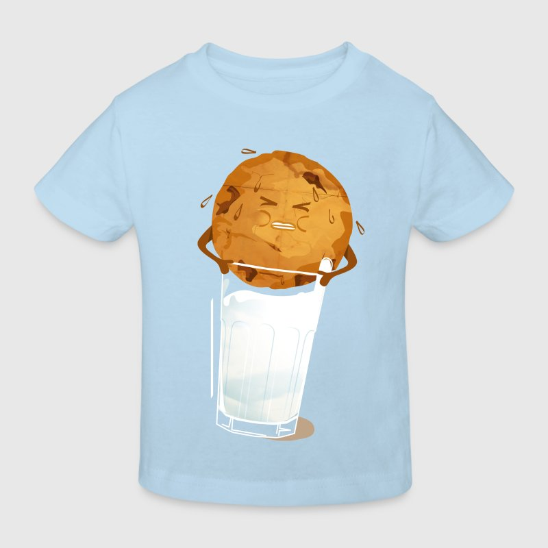 Light blue milk'n'cookie Shirts - Kids' Organic T-shirt