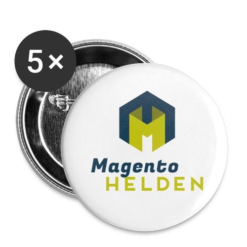 Magento-Helden Buttons 5er Pack - Buttons mittel 32 mm