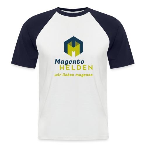 Magento Held Männer Baseballshirt kurzarm - Männer Baseball-T-Shirt