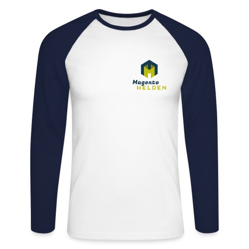 Magento Held Männer Baseballshirt Langarm - Männer Baseballshirt langarm