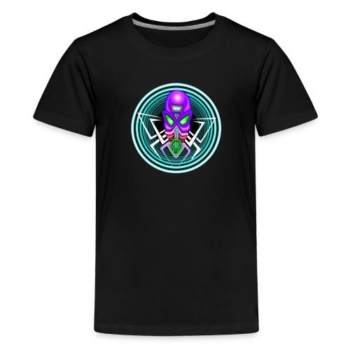 Disk Alien - T-shirt Premium Ado