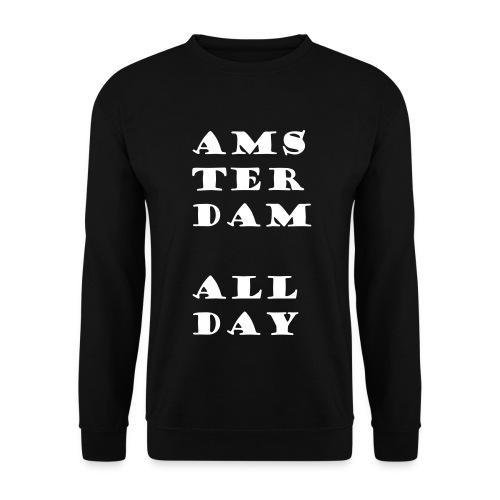 #AmsterdamAllDay Hoodie - Mannen sweater