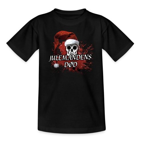 JULEMANDENS DØD - 1 - Børne-T-shirt