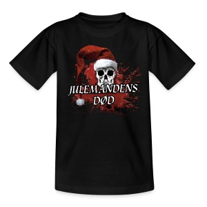 JULEMANDENS DØD T-SHIRT1 - Teenager-T-shirt