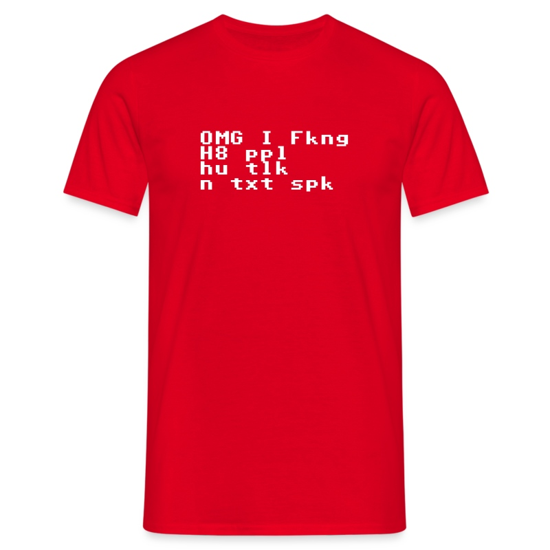 txt spk - Men's T-Shirt