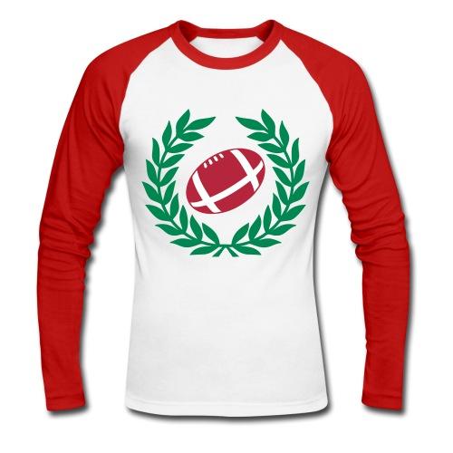 Ballon ovale - T-shirt baseball manches longues Homme