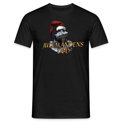 JULEMANDENS DØD T-SHIRT3 - Herre-T-shirt