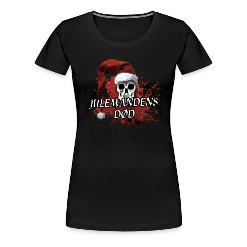 JULEMANDENS DØD T-SHIRT1 - Dame premium T-shirt