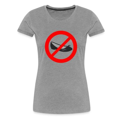 NO BALLERINE (woman) - Maglietta Premium da donna