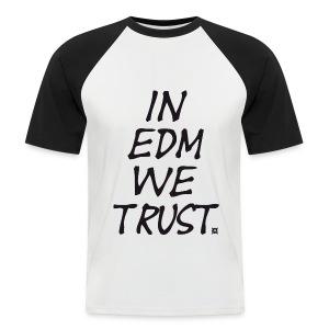 EDM Retro TS Man Black - Men's Baseball T-Shirt