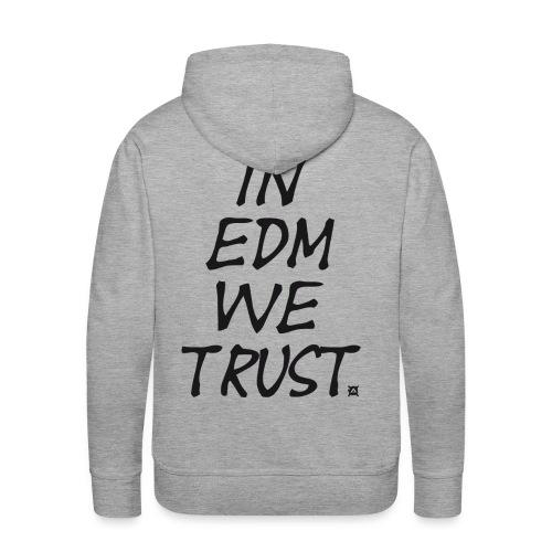 EDM SW Man Black - Men's Premium Hoodie