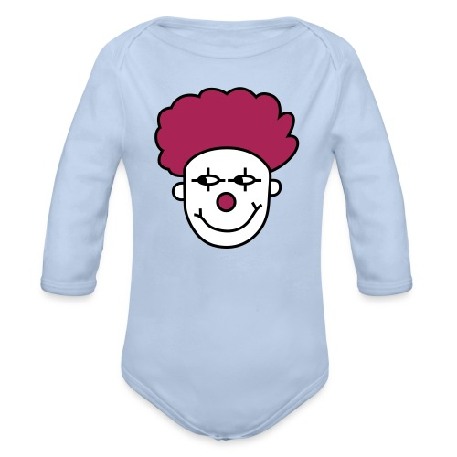 Paitus the clown - Organic Longsleeve Baby Bodysuit