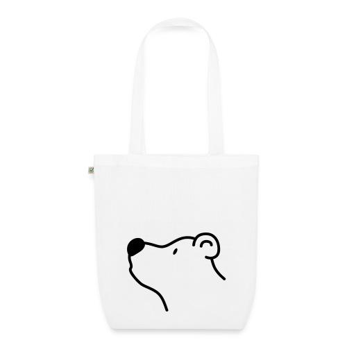 Weiss-Bär Einkaufstasche - Bio-Stoffbeutel