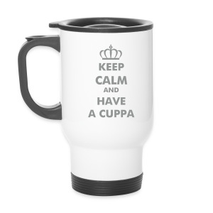 Travel Mug - ASCO KEEP CALM AND HAVE A CUPPA - Thermobecher
