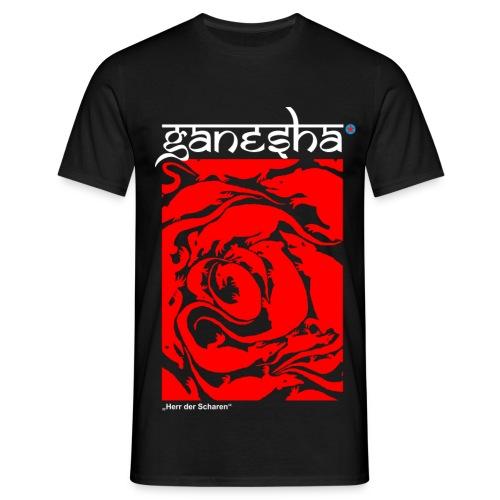 """Ganesha """"Herr der Scharen"""" - Männer T-Shirt"""