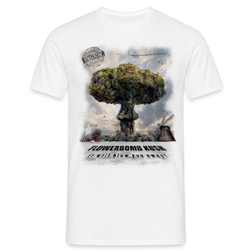 CANNABIS CUP T-SHIRT - Men's T-Shirt