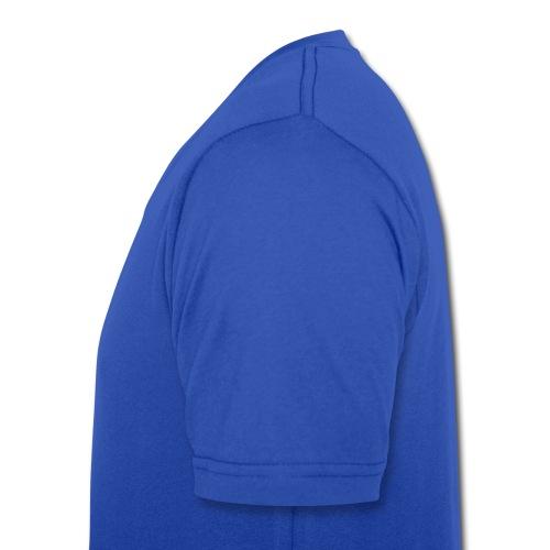 47xxx V-Neck blau - Männer Bio-T-Shirt mit V-Ausschnitt von Stanley & Stella