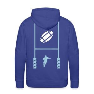 Essai rugby sweatshirt capuche - Sweat-shirt à capuche Premium pour hommes