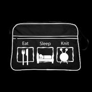 Tassen & rugzakken ~ Retro-tas ~ Eat sleep knit breitas