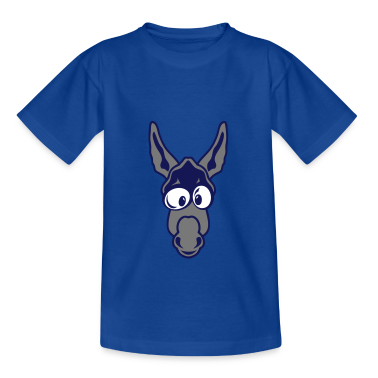 tee shirt ane mule dessin animaux smiley 2510 tee shirts spreadshirt. Black Bedroom Furniture Sets. Home Design Ideas