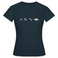 T-Shirts ~ Women's T-Shirt ~ Waveforms