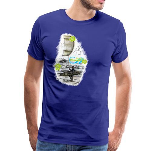 Drachenbändiger Spezial Bursch'n T-Shirt – Kitesurfer - Männer Premium T-Shirt