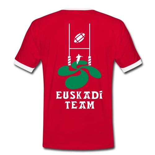 Euskadi team - T-shirt contrasté Homme