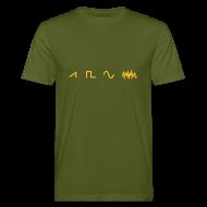 T-Shirts ~ Men's Organic T-shirt ~ Waveforms