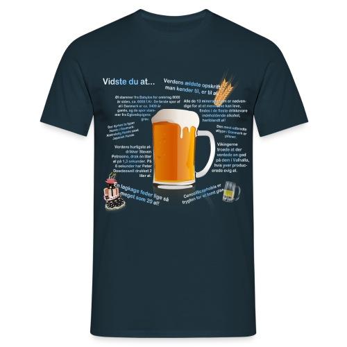 Øl-trøjen! (Herre) - Herre-T-shirt