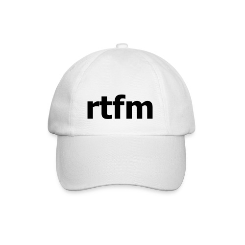 RTFM - Baseballkappe