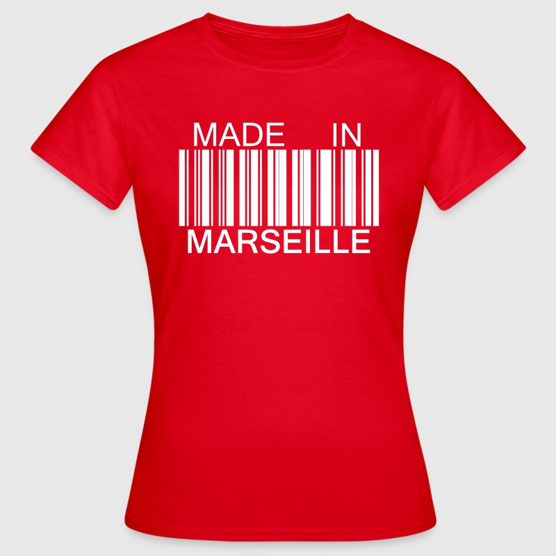 Made in Marseille 13 Tee shirts - T-shirt Femme