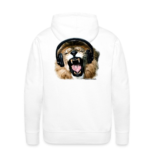Sweat DJ Lion - Sweat-shirt à capuche Premium pour hommes