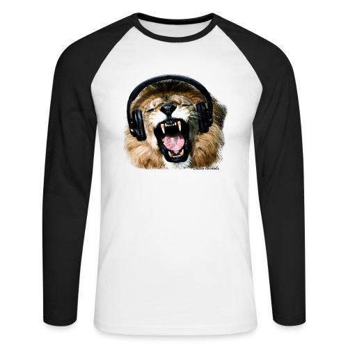 T-Shirt manche long DJ Lion - T-shirt baseball manches longues Homme