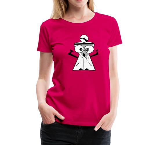 doctor boo - Maglietta Premium da donna