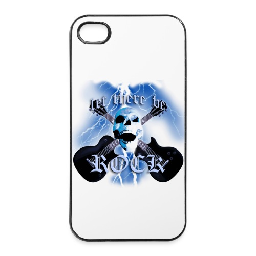 Custodia rigida per iPhone 4/4S Let There Be Rock - Custodia rigida per iPhone 4/4s