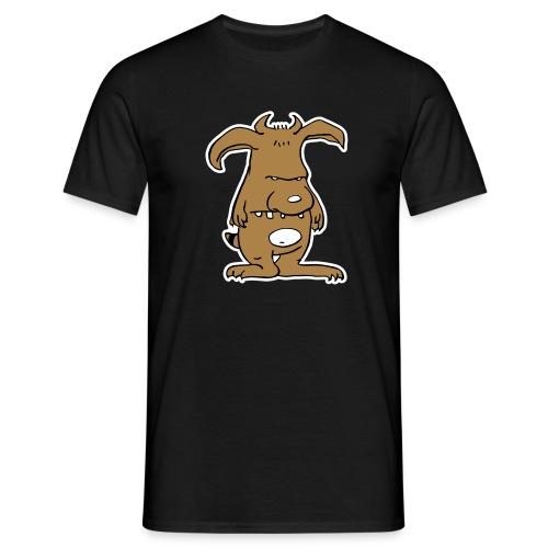Monsta brown - Männer T-Shirt