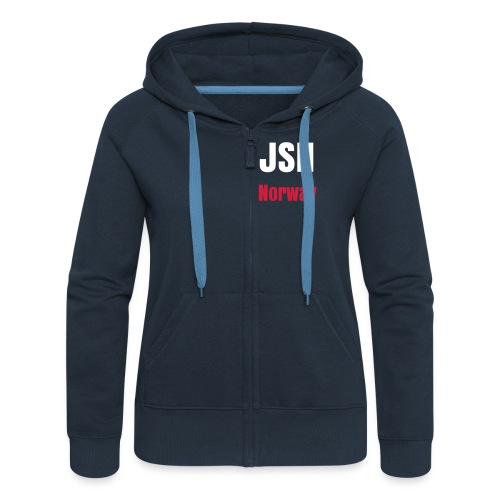 JSH Hat Logo #7s-w - Women's Premium Hooded Jacket