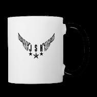 Mugs & Drinkware ~ Contrasting Mug ~ JSH Logo #2-b