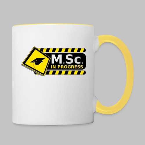 tasse (mug) Master in progress - Contrasting Mug