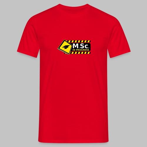 T-shirt homme (man) Master in progress - Men's T-Shirt