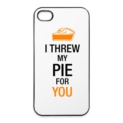 I THREW MY PIE FOR YOU - iPhone 4/4s Hard Case