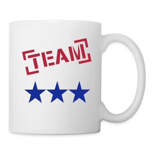 Team 3 étoiles - Mug blanc