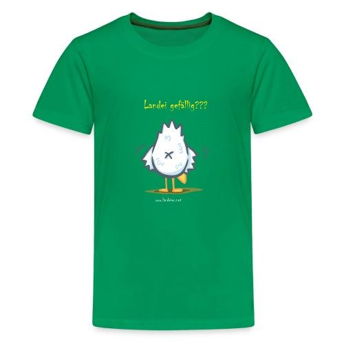 Landei gefällig??? - Teenager Premium T-Shirt