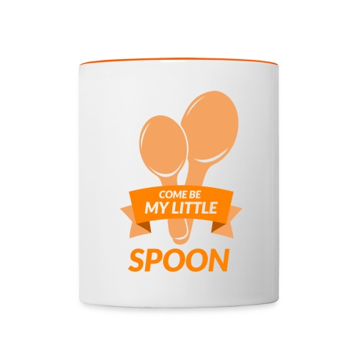 Come Be My Little Spoon - Contrasting Mug