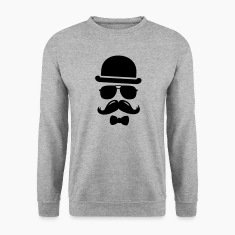Cool  swag hipster moustache boss man father Sweat-shirts