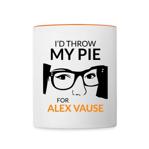 I'd Throw my Pie for Alex Vause - Contrasting Mug